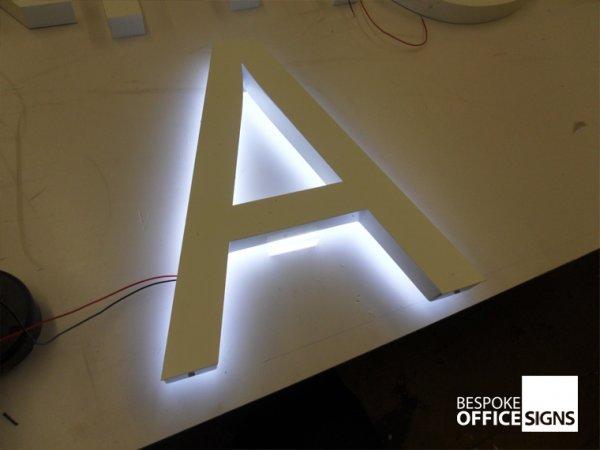 Illuminated Office Wall Signs Illuminated Business Signs
