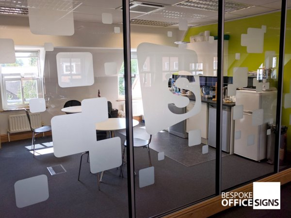 Printed Wall Graphics Bespoke Office Signs