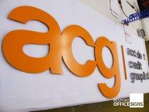 acg - Metal Office Signs