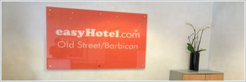acrylic glass plaque signs