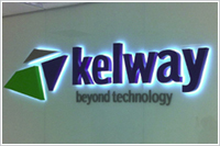 Swansea illuminated office signs