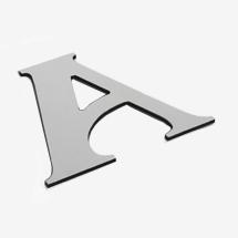aluminium composite dibond office logo